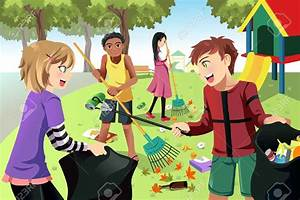 People cleaning the environment clipart - Clip Art Library
