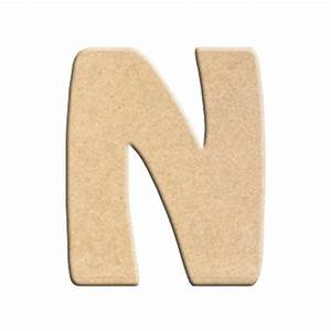 Lettre En Bois A Peindre : lettre n peindre d corer lettre en bois brut lettre ~ Dailycaller-alerts.com Idées de Décoration