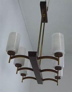 Dänische Design Leuchten : d nische h ngelampe in teak und glas vintage lampe 60er nr oldthing deckenlampen ~ Markanthonyermac.com Haus und Dekorationen