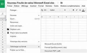 Comment enregistrer un document excel en pdf for Document pdf en excel