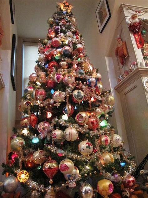 vintage tree ornaments christmas christmas christmas