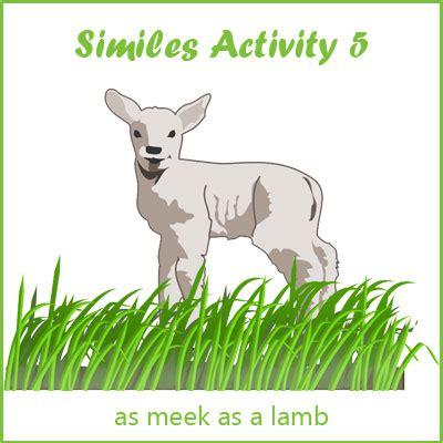 similes activity  list  similes examples  similes