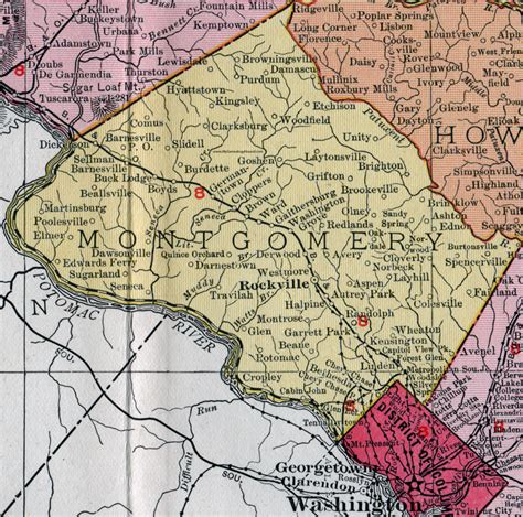 Montgomery County, Maryland, Map, 1911, Rand Mcnally. Etched Wood Signs Of Stroke. Copyright Free Signs. Nature Reserve Signs Of Stroke. February 5th Signs. Care Plan Signs. Floor Guide Signs Of Stroke. Decreased Signs. Wilson's Disease Signs Of Stroke