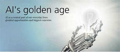Ai Age Golden Intelligence Artificial Concerns Evolution