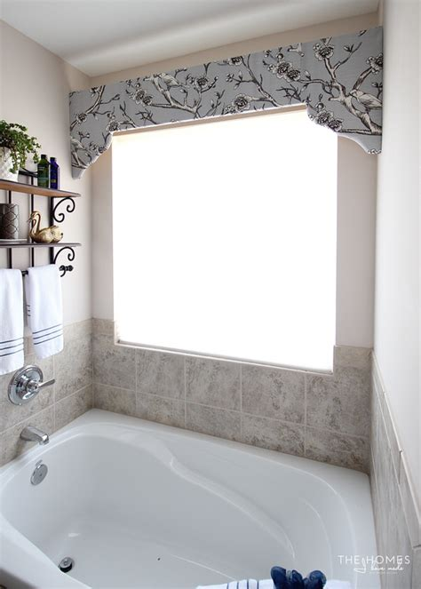 Simple Cornice by How To Make A Simple Window Cornice With Scalloped Edges