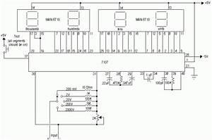 How To Build Digital Voltmeter Circuit Diagram World