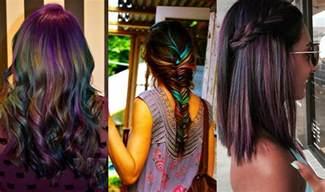 Photos of Oil Slick Hair