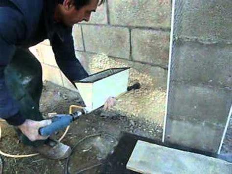 comment faire le crepi exterieur cr 233 pi sur moellon avec le combi cr 233 pi joint