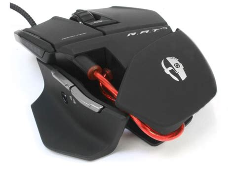 Gaming Mouse Mad Catz Cyborg Rat 3 Μαύρο Ματ Multiramagr