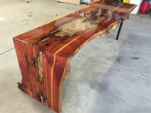 items similar to live edge waterfall coffee table on etsy With live edge waterfall coffee table