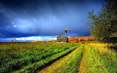 Country Farm Scenes Scene Windmill Horse Wallpapersafari