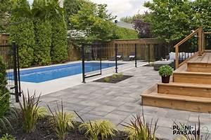 amenagement piscine creusee With photo amenagement paysager exterieur 6 realisations de piscines creusees en beton piscine