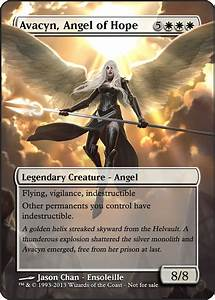Magic the Gathering - Avacyn, Angel of Hope by ...