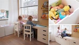 Rangement Chambre Enfants : avec les meubles ad quats ~ Melissatoandfro.com Idées de Décoration