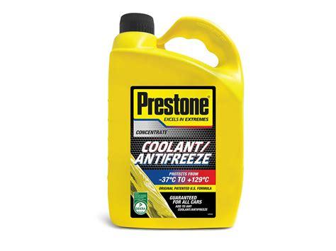 Prestone 4l Antifreeze Concentrate Mix Summer Winter