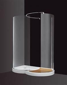 Cabine Douche 3 Parois Vitrées : cabine douche ronde cabine douche ronde sur enperdresonlapin ~ Premium-room.com Idées de Décoration