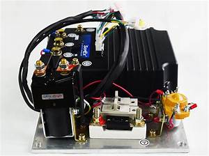 Curtis Programmable Dc Sepex Motor Controller Assemblage