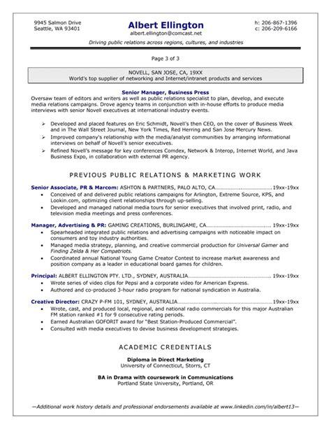 executive summary in resume exle 28 images sle