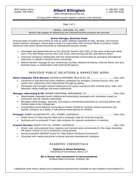 resume sles exles brightside resumes