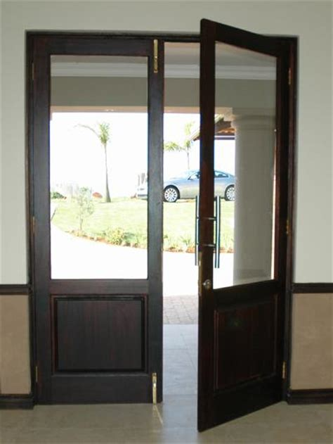 full pane top solid bottom    exterior doors