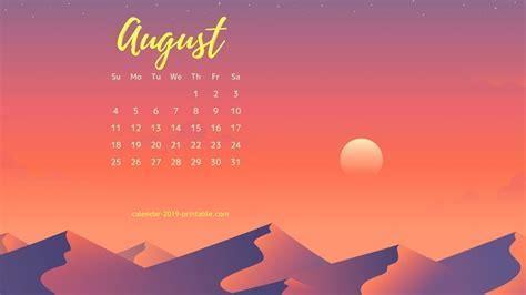 august  calendar hd wallpapers calendarbuzz
