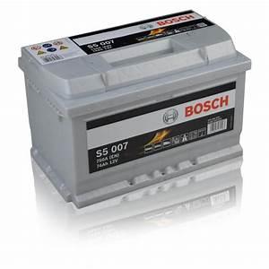 Autobatterie 74ah Preisvergleich : bosch autobatterie s5 007 74ah ~ Jslefanu.com Haus und Dekorationen