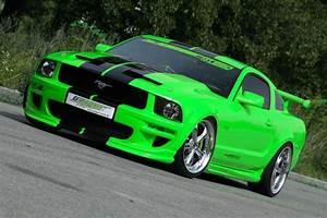 Lime Green Fox Body Mustang | Convertible Cars