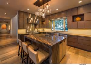 kitchen island with breakfast bar breakfast bar kitchen island home near lake tahoe california