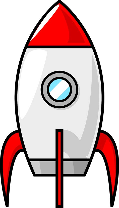 clipart image rocket outline clip clipground