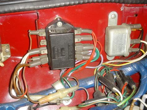 fuse box location mgb gt forum mg experience forums