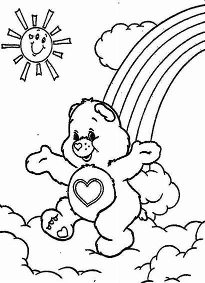 Coloring Bears Care Cartoon