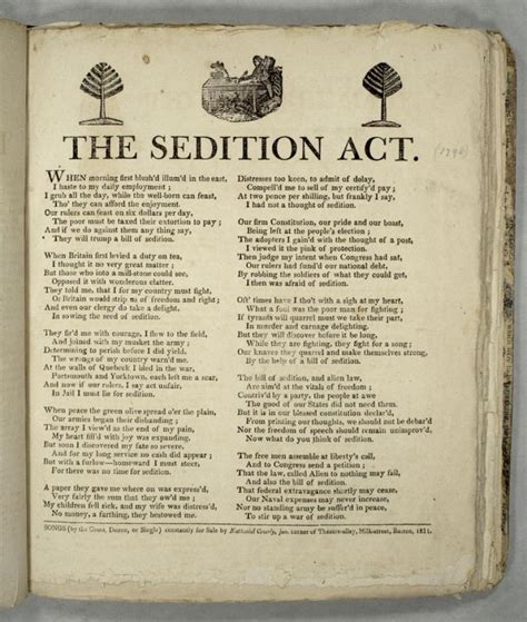 The Alien and Sedition Acts History Teaching Institute