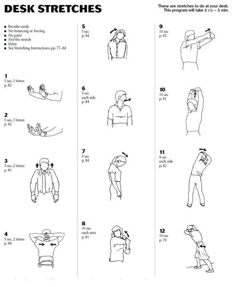 Office Desk Exercises by 25 Best Office Exercises Images On Office