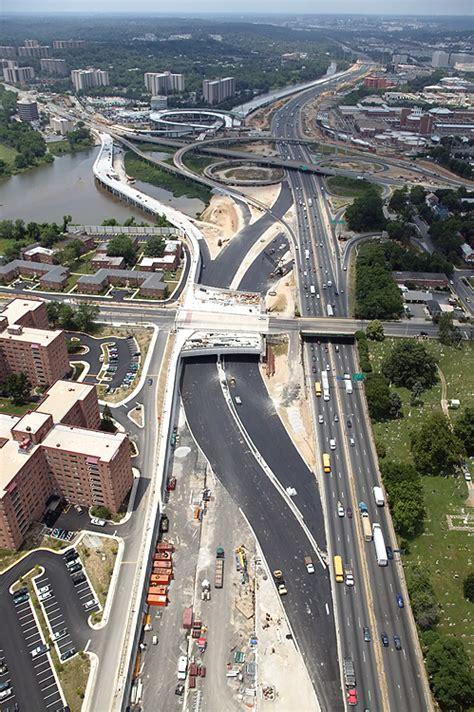 Woodrow Wilson Bridge  Selected Construction Aerial Photos