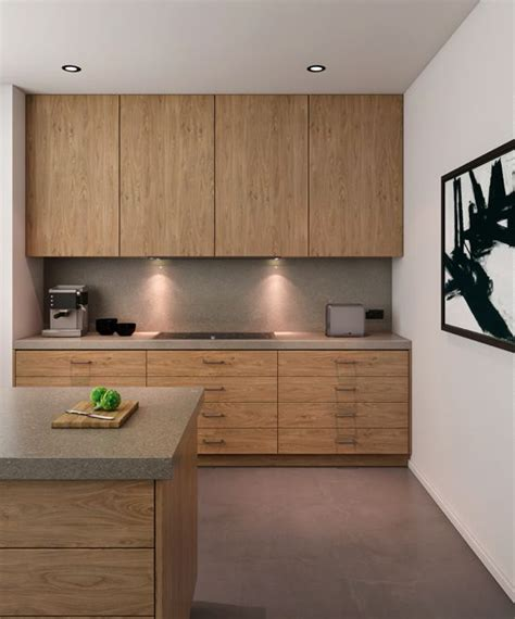 Timber Cupboards by Laminex Finished Timber Veneers In Blackbutt Wave