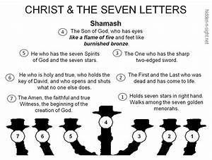 quotthe seven letters menorahquot learn revelation with a With menorah hebrew letters