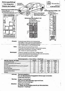 2007 Mercedes C320 Fuse Box Diagram