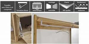 meuble d39entree vestiaire bois trendymobiliercom With meuble vestiaire d entree 4 armoire dentree blanche 2 portes trendymobilier