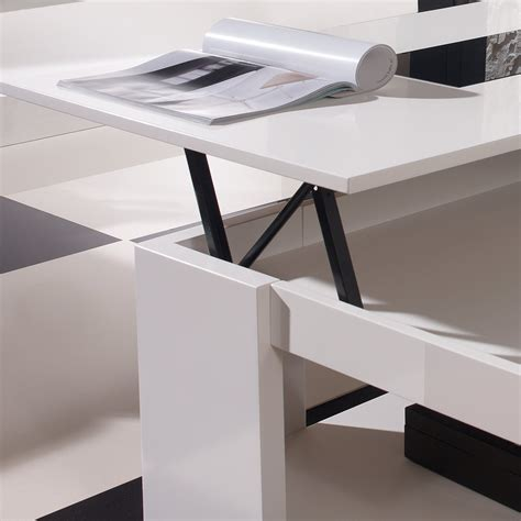la table basse relevable r 233 volutionne le salon d 233 co et