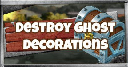 fortnite destroy ghost decorations locations