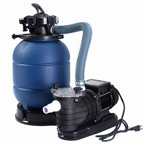 Pro 2450gph 13 U0026quot  Sand Filter Above Ground Swimming Spa