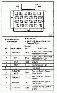 2001 Chevy Impala Radio Wiring Diagram
