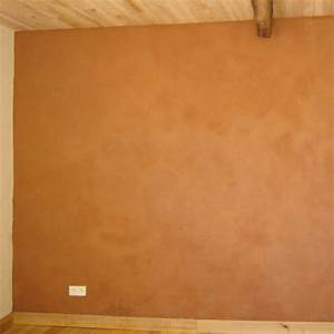 mur interieur enduit terre pieds nus habitat With enduit mur parpaing interieur