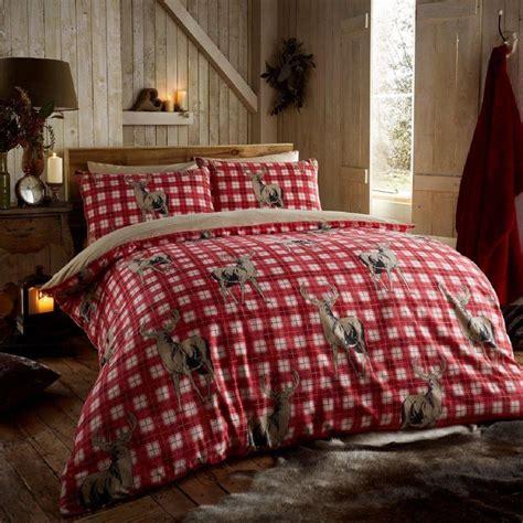 Flannelette Luxury 100% Brushed Cotton Duvet Cover