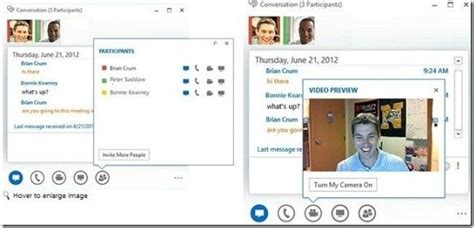 conduct  conference call  microsoft lync