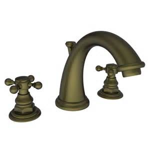 faucet 890 06 in antique brass by newport brass - Widespread Kitchen Faucet