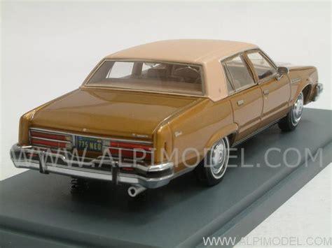 neo Buick Electra Sedan (Gold Metallic) (1/43 scale model)