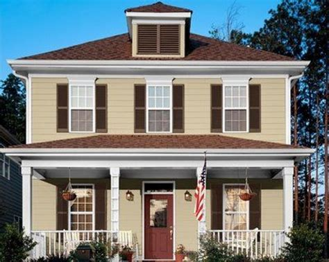 exterior colors that go with brown roof fresh color