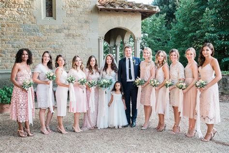 How To Make A Large Bridal Party Manageable
