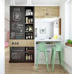Meuble Separation Cuisine Salon : bar coin repas multifonctions pour s parer cuisine et salon ~ Dailycaller-alerts.com Idées de Décoration